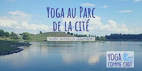 Yoga au Parc de la Cité (pour débutants) tickets