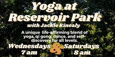 Yoga at Reservoir Park tickets