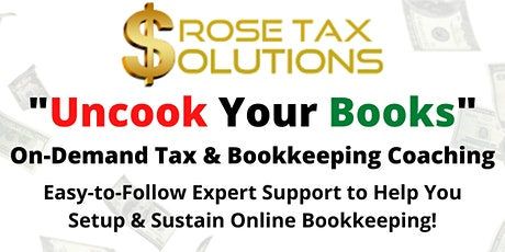 DIY Bookkeeping Class: Uncook Your Books tickets