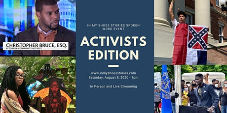 In My Shoes Spoken Word Event and Brunch - ACTIVISTS EDITION tickets