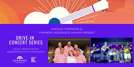 Kapolei Commons Drive-In Concerts Presented by Farmers Insurance Hawaii tickets