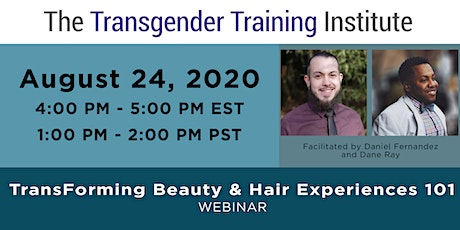 TransForming Beauty & Hair Experiences 101- Webinar - August 24, 4-5:00 ET tickets