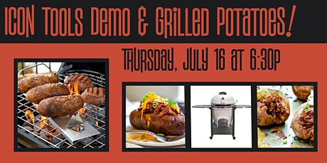 Icon Tools Demo & Grilled Potatoes tickets