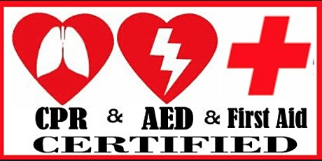 Virtual CPR and First Aid Re-certification tickets
