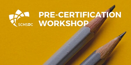 Pre-Certification Workshop tickets