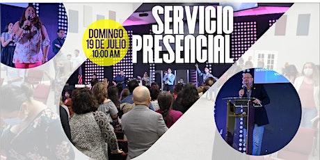 Servicio Familiar 19 de Julio de 2020 - 10:00 AM tickets