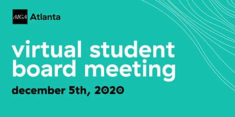 Virtual Student  Board Meeting – December 2020 tickets