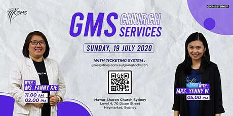 Sunday Live Service 1 (w/ Eagle Kidz) @ 11am  - 19th July 2020 tickets