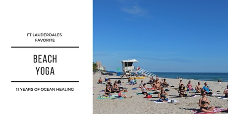 Fort Lauderdale Beach Yoga tickets