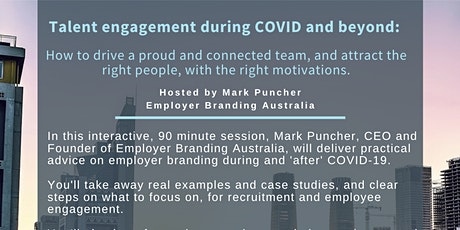 Talent Engagement during COVID and beyond tickets