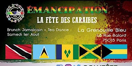 Emancipation-  La fête des Caraïbes: Le Brunch Jamaïcain + Afterwork tickets