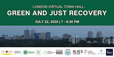 Green and Just Recovery Virtual Town Hall London tickets