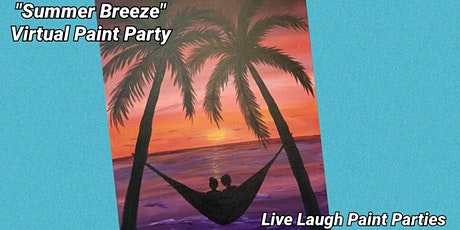 """""""Summer Breeze"""" Virtual Paint Party tickets"""