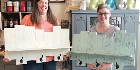 Milk Paint Pallet Shelf Workshop tickets