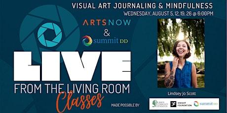 Visual Art Journaling & Mindfulness with Lindsey Jo Scott (Aug 5, 2, 19,28) tickets