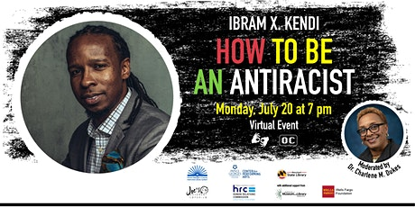 """Ibram X. Kendi on """"How to Be an Antiracist"""" tickets"""