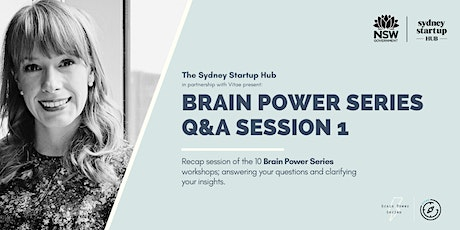 The Brain Power Series:  Q&A Session 1 tickets