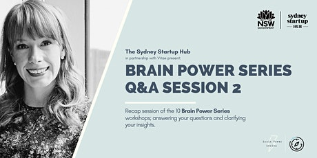 The Brain Power Series:  Q&A Session 2 tickets