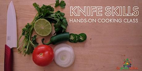Online Class:  Knife Skills Hands-On Cooking Class tickets