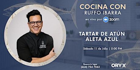 Cocina con Ruffo Ibarra por Zoom tickets