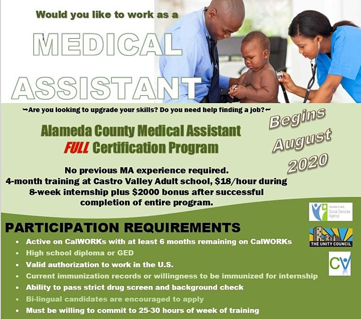Alameda County Medical Assistant Program image