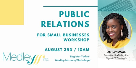 PR for Small Businesses Workshop tickets