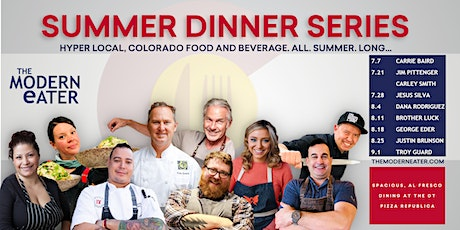 Summer Dinner Series - Colorado's Premiere Chefs Series tickets