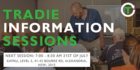 Tradie Information Session July 2020 tickets