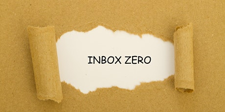 The Inbox Zero Workshop - Wednesday 28th October 2020 Event tickets