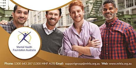 Men's Wellbeing Support Group - 2nd Wednesday tickets