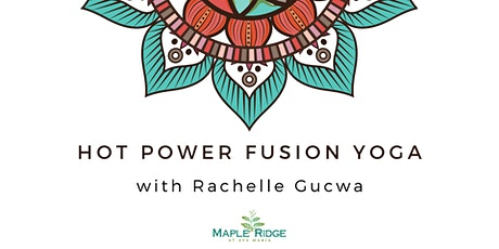 Hot Power Fusion Yoga with Rachelle Gucwa  |  LIVE on Zoom and Facebook tickets
