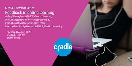 CRADLE Seminar Series: Feedback in online learning tickets