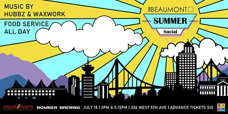 Summer Social Volume 3 w/ Hubbz and Waxwork tickets