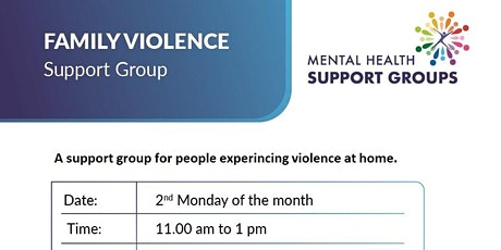 Family Violence Support Group tickets