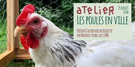 Atelier - Les poules en ville billets