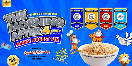 The Morning AFTER Brunch - 4 YEAR ANNIVERSARY tickets
