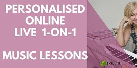 Music Lessons Online for Kids aged 8 - 15 tickets