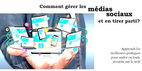 Webinaire - Une stratégie pour la bonne gestion des réseaux sociaux billets