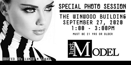Just Model: Special Event Photo Session - Miami, F tickets