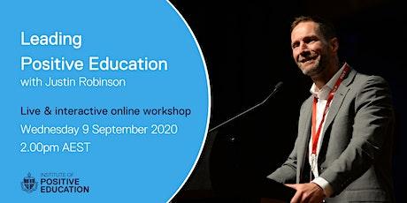 Leading Positive Education Online Workshop (September 2020) tickets