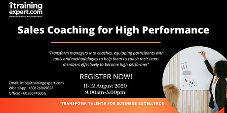 Sales Coaching for High Performance tickets