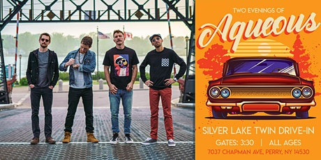 AQUEOUS - 8/8- LIVE Concert at Silver Lake Twin Drive-In - Car Pass Pricing tickets