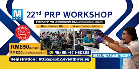 Basic PRP Introduction Workshop (22nd) - [THIS IS NOT A FREE EVENT] tickets