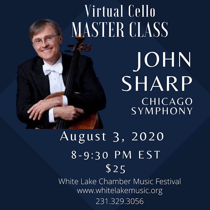 Cello Master Class: Chicago Symphony's Principal Cellist John Sharp image