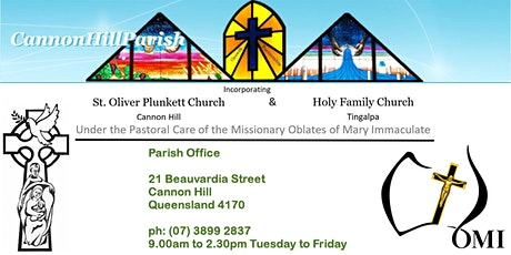 Friday Evening Mass - Cannon Hill - 7.00pm tickets