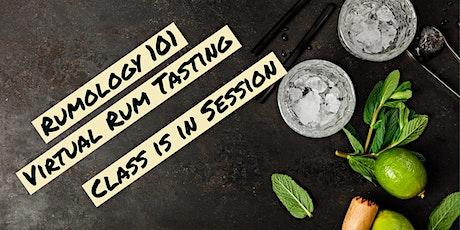 Rumology 101: Virtual Rum Tasting tickets