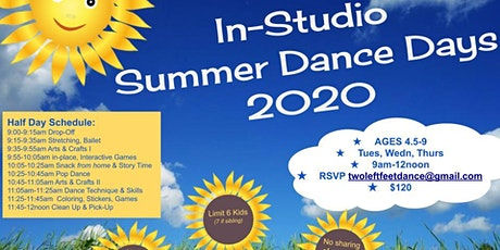 "In-Studio Summer Dance Camp ""Princesses & Knights"" tickets"