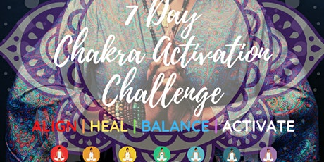 7 Day Chakra Activation Challenge tickets