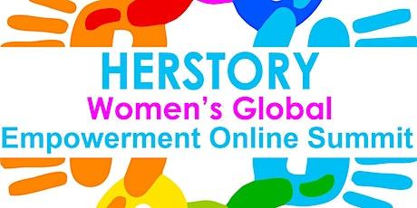 HerStory Global Women's Empowerment Online Summit Speaker Registration tickets
