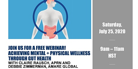 Achieving Mental + Physical Wellness Through Gut Health tickets